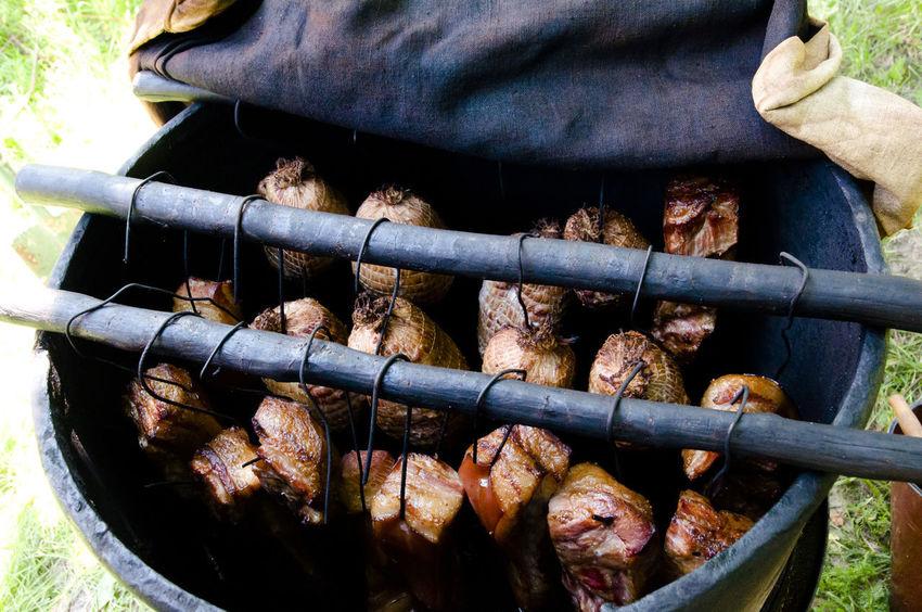 Smoked Ham & Bacon Smoked Ham Bacon Barbecue Meat Smoked Bacon