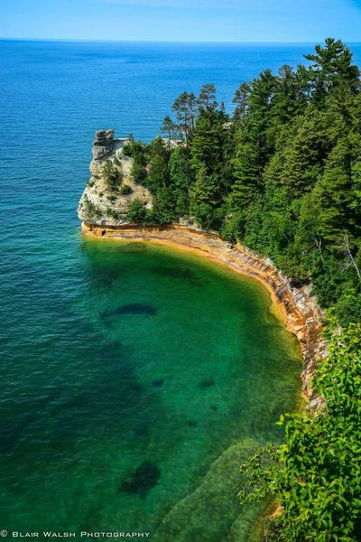 Miners Castle Michigan Photography Photooftheday Nikon D7100 Lakesuperior