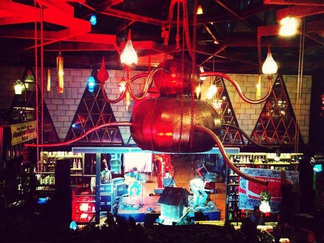 Chandelier Stage Nightlife Shareacoke