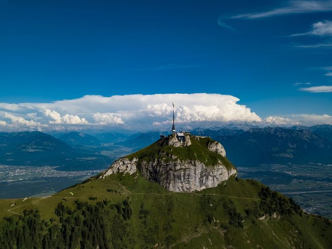 Architecture Beauty In Nature Blue Cloud - Sky Day Landscape Mountain Nature No People Outdoors Scenics Sky Spirituality Tranquil Scene Tranquility Travel Destinations