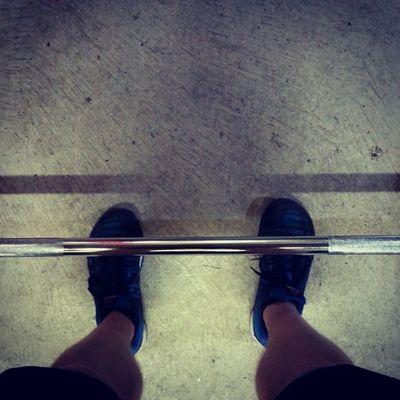 Morning deadlifts. Strongman Crossfit Strength Fitness Crossfitaustralia Unbroken