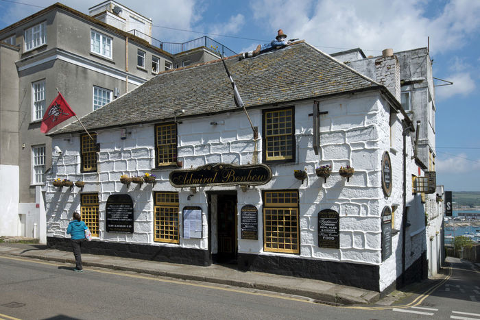 Admiralk Benbow public house 18th.Century Admiral Benbow British Interiors Pub Pubs Sailing Ship A Building Buyildings Cornish Cornwall Historic Historical Interior Penzance  Public House Public Houses Sail Sailing Ship Ships Ships Interior Traditional Uk