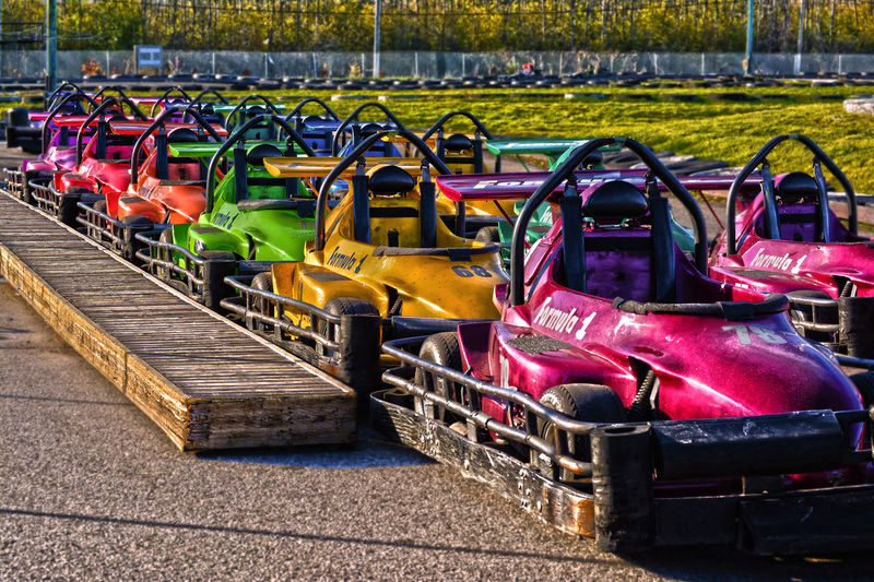 Color Colorful Go Karting Go Karts Rainbow Sport Sporting Sports Transportation