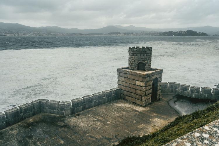 Baiona Cloud Galicia SPAIN Wave Landscape Material Ocean Sea Sea And Sky Seascape Sky Water Waves