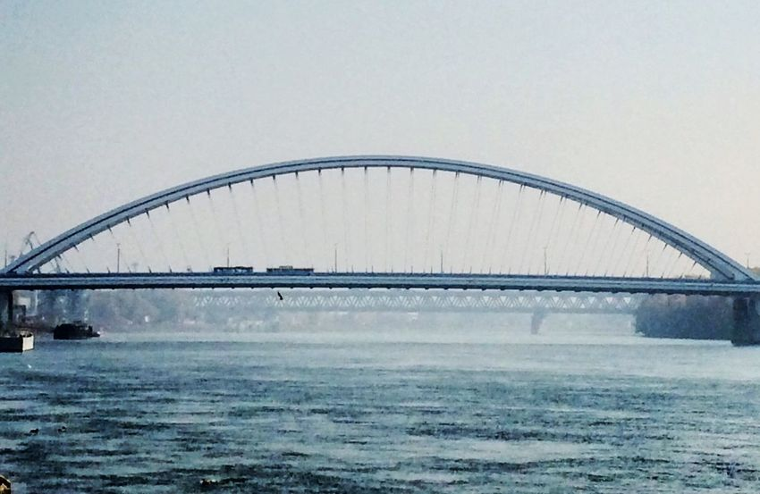 Bridge Bratislava, Slovakia River View Bridgesaroundtheworld EyeEm Best Shots Urban Architecture