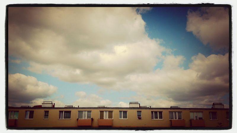 widok z telefonowego okna ;-)