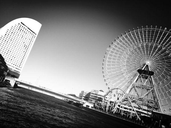 Ferris wheel? Blackandwhite Taking Photos Photography Japan