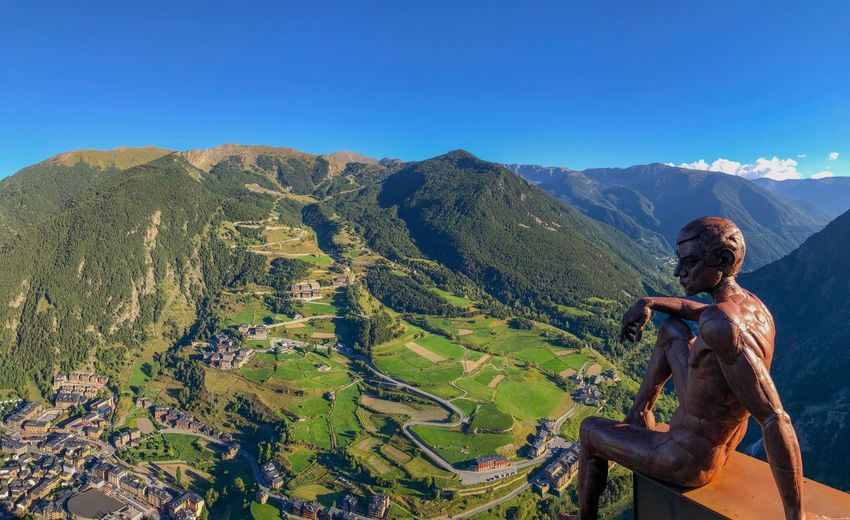 Mirador Roc del Quer Andorra Panoramic view Landscape_photography EyeEm Best Shots Panoramic Andorra Roc Del Quer Mirador Roc Del Quer Mountain Sunlight Day Tranquil Scene Scenics - Nature Landscape Environment Mountain Range Leisure Activity Green Color Adventure Travel Destinations Outdoors Travel People