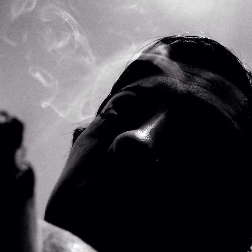 Smoke gets in your eyes... NEM BadKarma NEM Black&white NEM Self Mob Fiction
