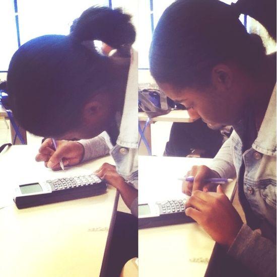Vero so proud of me doing my work! :D