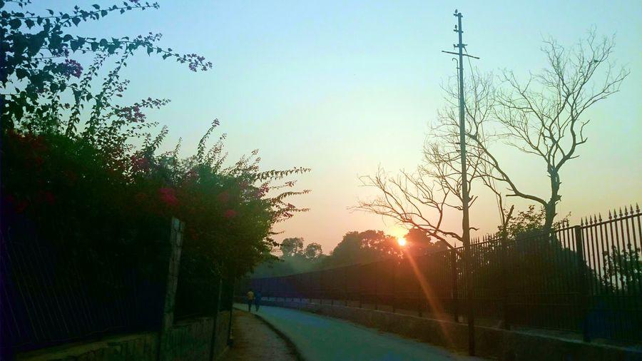 Randomshot Sunset Sun Rays Mobilephotography