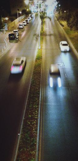 Urban Landscape and Cityscapes of Limassol • Night Lights are Moving On The Road • Traveling Travel Travel Photography RePicture Travel