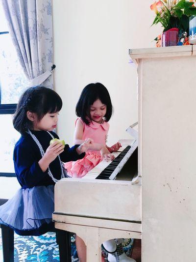 cool kids Piano Time Music Time Kids Playing Kids Having Fun