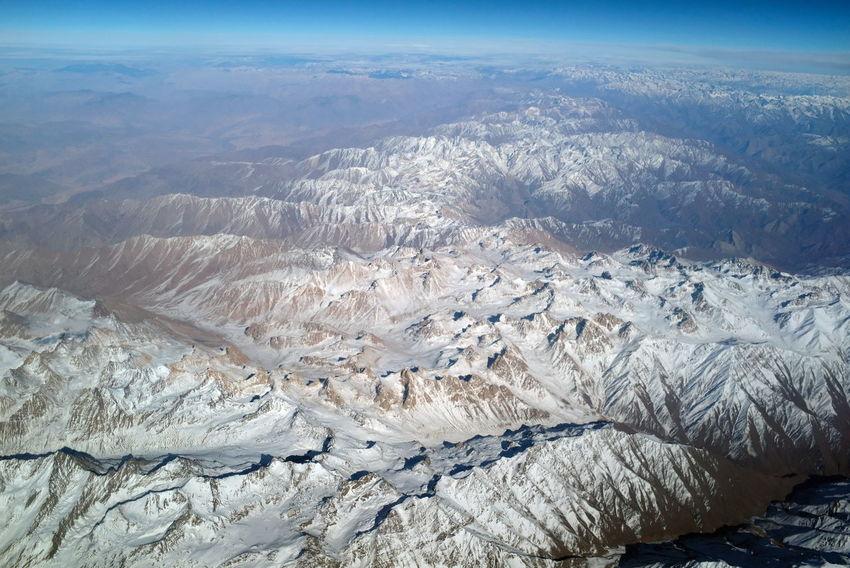 High above Afghanistan and Tadjikistan... 2017 Flightview Mountain Range Semi-desert