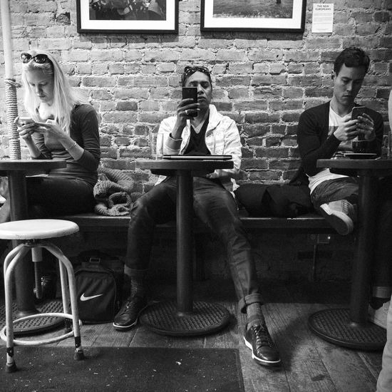 Adult Adults Only Authority Black Black And White City Life Coffee Shop Coffee Time Day Full Length Indoors  Men One Man Only People Real People Sitting Streetphotography Young Adult