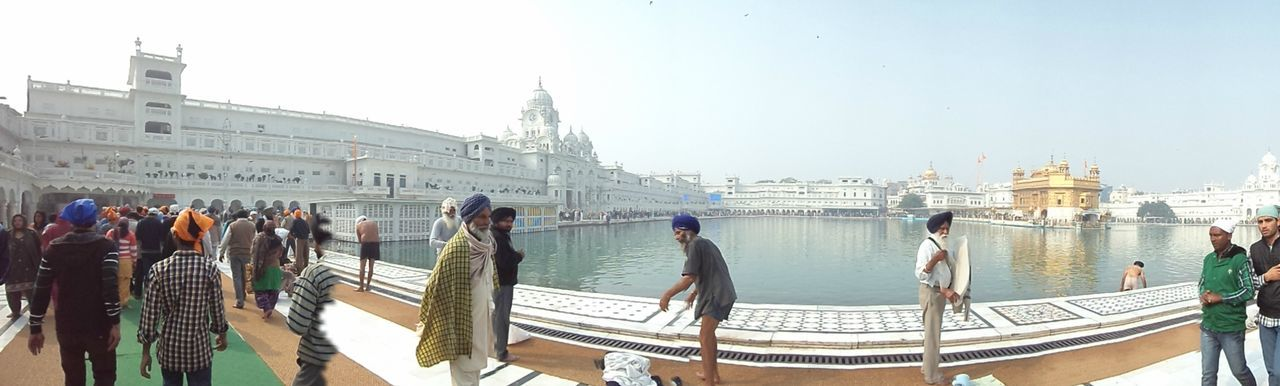 Amritsar Golden Golden Temple India Punjab Tour Tourism