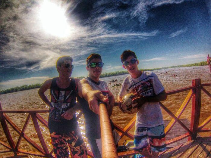 Selfie ✌ Friends Vacation ValleMaria Goprohero4