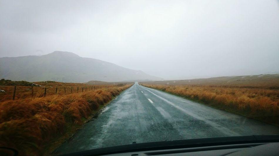 Throwback Ireland Connemara Park Nature Car Ride  Traveling