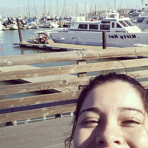 Selfie in San Francisco!! Roadtrip Sanfran Pier31 Lovethisplace