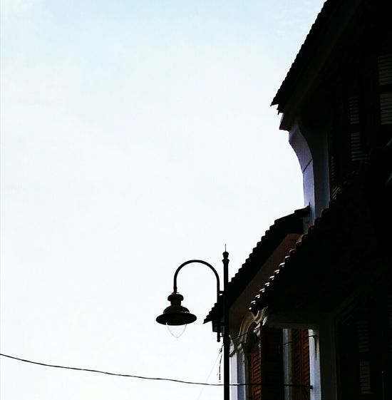 Architecture Road Lamp Old Is Gold