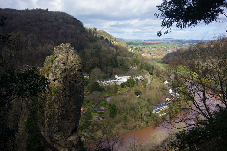 Beauty In Nature Cloud Cloud - Sky Cloudy Green Color Growth Herefordshire High Angle View Hill Landscape Nature River Wye Scenics Sky Symonds Yat The View Tranquil Scene Tranquility Tree Water Wye Valley England Made Me