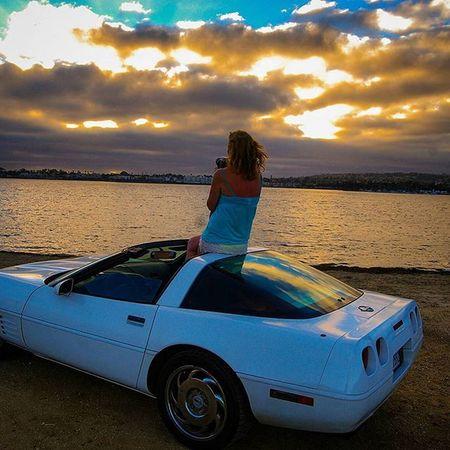 Photographer Corvette Sean_goleon Sunsets Summertime