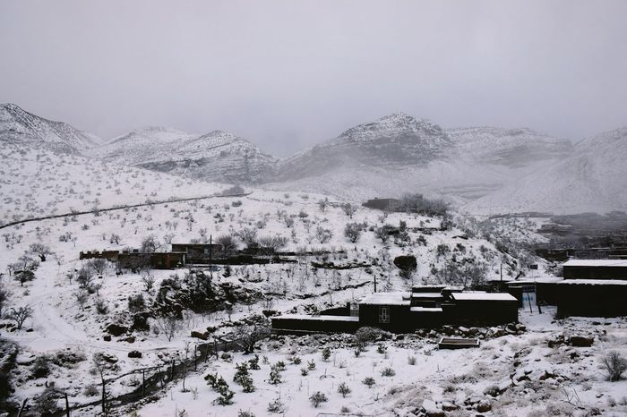 Snowy Village Landscape Nature Outdoors Snowy Mountains Snow Day Village View Village House Village Photography Travel White Snowy Scene Cold Snow Mountain Winter Foggy Middleofnowhere Clouds Iran Snowy Day The Great Outdoors - 2017 EyeEm Awards