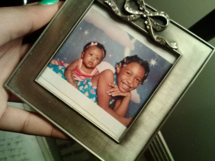 Me And My Sister 6 Years Ago