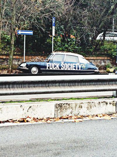 Fucksociety Car Rome