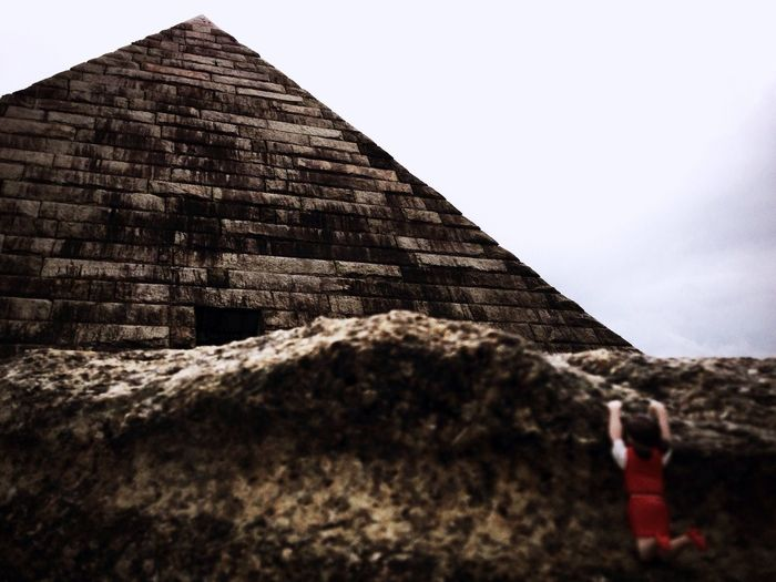フチ子 Pyramid Triangle