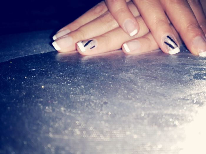 A French Nail Tip My Fav♡ ?