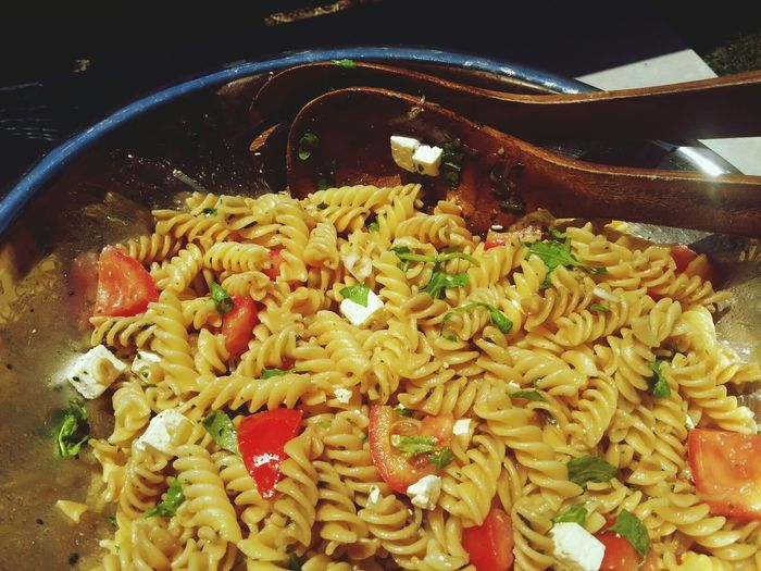 Being Healthy And Shit Foodporn Eating Healthy Healthy Selfmade italian pasta salad