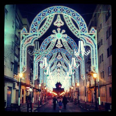 Luces Lights Iluminación Calle Street Fiesta València