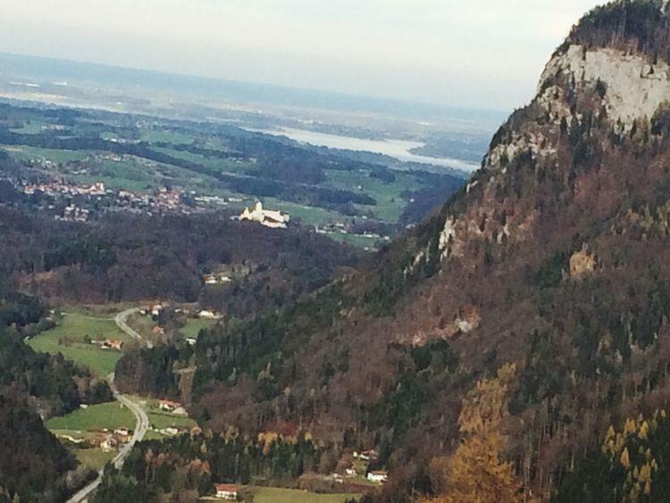 Nice Day Chiemgau Chiemsee Schloss Aschau Gernany Bavarian Bavarian Alps