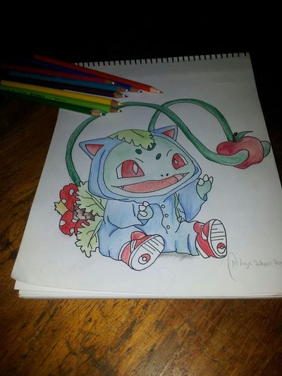 Drawing Pokemon! My Draw ♥ Color Pencil
