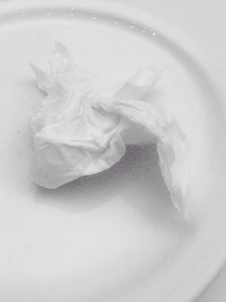 No People White Background Close-up White Color White Shades Of White Plate Napkin My Point Of View Indoors  Object Composition Ios Photography Papercraft Art Is Everywhere