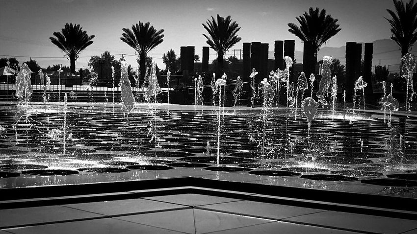 Monochrome Photography BAPS Shri Swaminarayan Mandir Hindu Temple Architecture Water Fountain Enjoying The View Leisure Activity Eye4photography