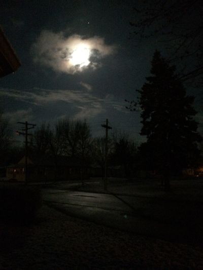 "Last nights ""midnight sun"" Moon Bright Night Eye4photography  IPhoneography"