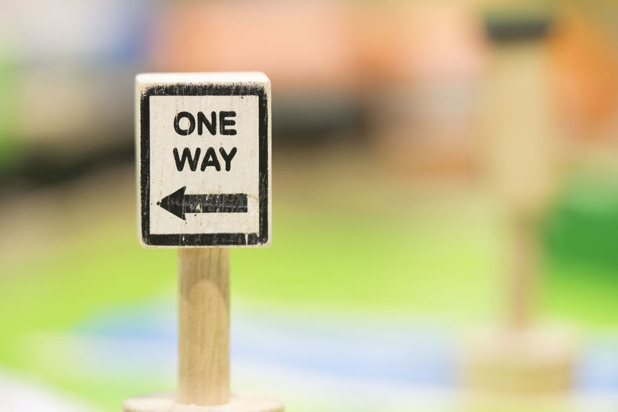 one way sigh - Toy Set Street Signs - Play set Educational toys for preschool indoor playground (selective focus) Text Communication Sign Focus On Foreground Western Script Wood - Material No People Day Close-up Outdoors Nature Single Object Road Sign Selective Focus Symbol Guidance Environment Travel Wooden Post One Way Sigh Educational Toys Wooden Toy Wooden Toy Block