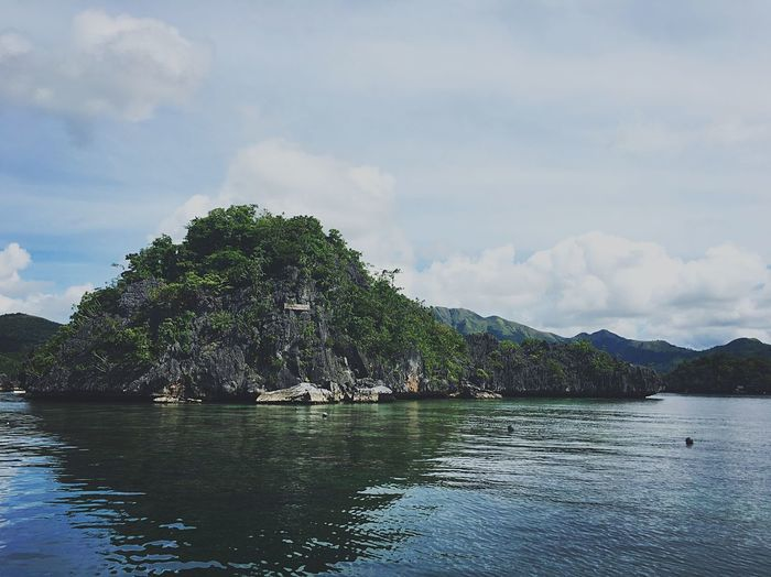 Siete Pecados Palawan Coron Philippines Cloud - Sky Sky Nature Scenics Mountain Beauty In Nature Water EyeEmNewHere