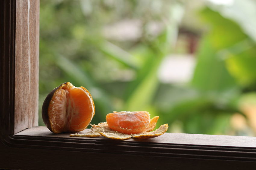 A Mandarin orange is a must in Chinese new year celebration Chinese Chinese New Year Mandarin Orange Fruit Tempoyak Melaka Food And Drink Healthy Eating Food Citrus Fruit Table Ready-to-eat Nature No People Day Indoors  Blood Orange Close-up SLICE