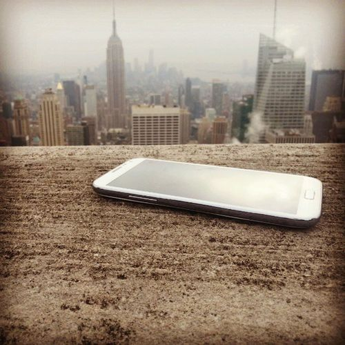 Galaxys4 Samsung NY Instagram smartphone android vue picture