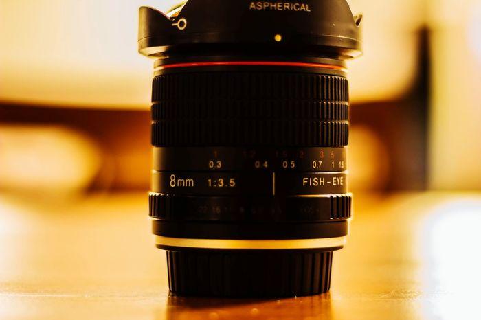 Camera - Photographic Equipment No People Close-up Indoors  Casual Shot Fish Eye Lens