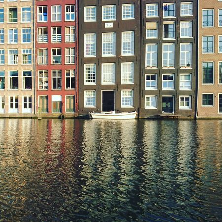 People And Places. People And Places People Watching Amsterdam Canals Reflections