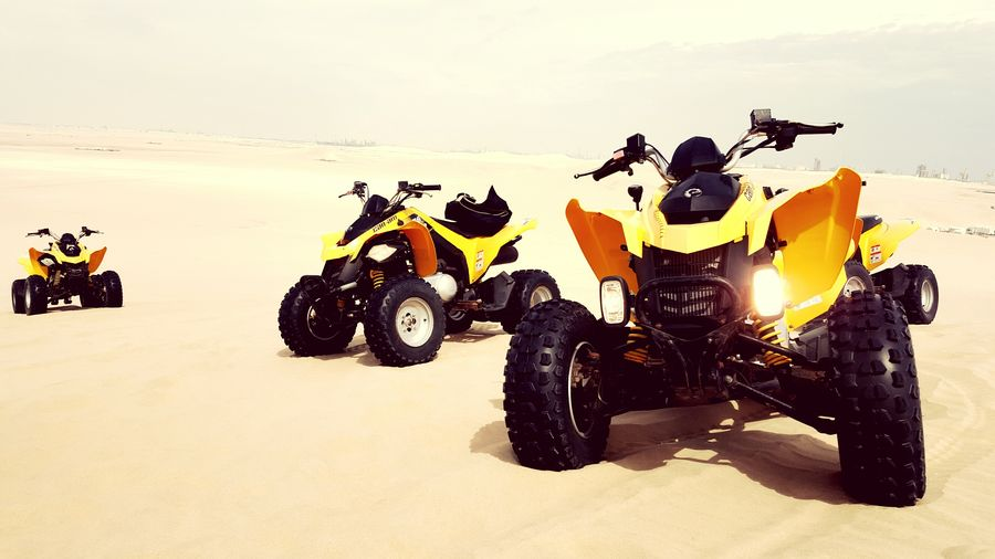 Desert Desert Landscape Motorsport Quads Safari Desrt Safari GCC Extreme Sports Quad Biking Deserts Around The World Qatar Middle East On The Way