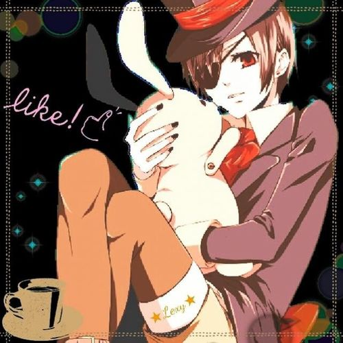 Animescene Anime Animeboy Ciel spring suglie smile animal