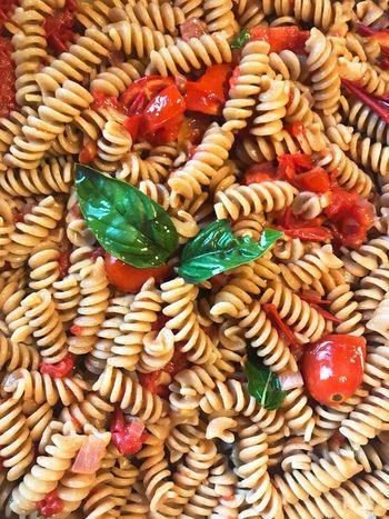Food Italian Food Freshness Ready-to-eat Tomato Basil Pasta Dinner Onion Good Food