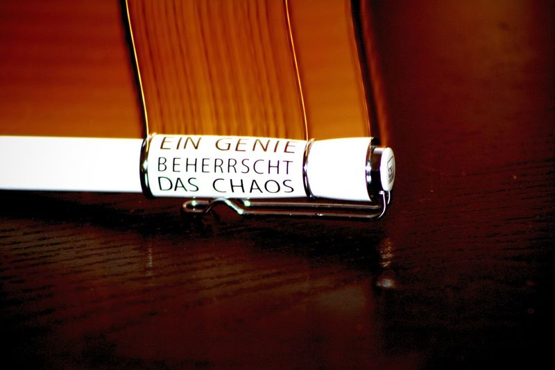 """A genius rules chaos"" Wisequotes True Words Sentence Randomshot BORED! Thatsmylife Remember This Falling Down Rightmoment German"