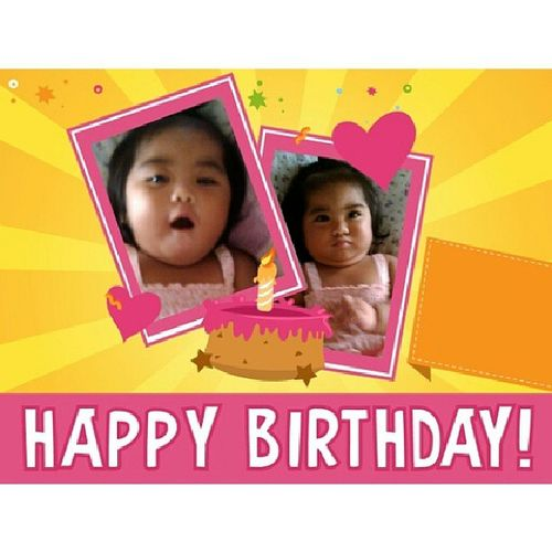 Advance Happy Birthday to you Lil Princess! ♛ ツ Twodaystogo Princessnaomi 12monthsyoung Manethwlove