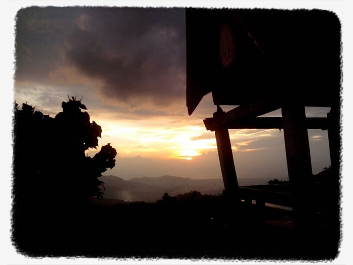 sunset from bukit indarung
